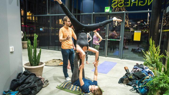 Akrobater på UKK