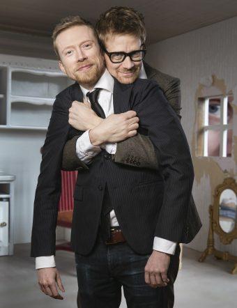 Anders & Måns. Foto: Nils Bergendahl.