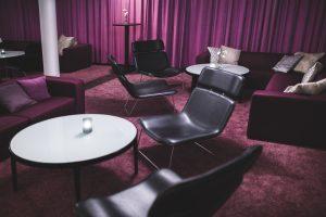 Lounge och festvåning på plan 7.