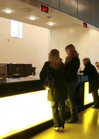 UKK reception och biljettkassa