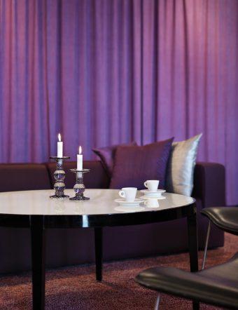Lounge på plan 7. Foto: Patrik Lindell.