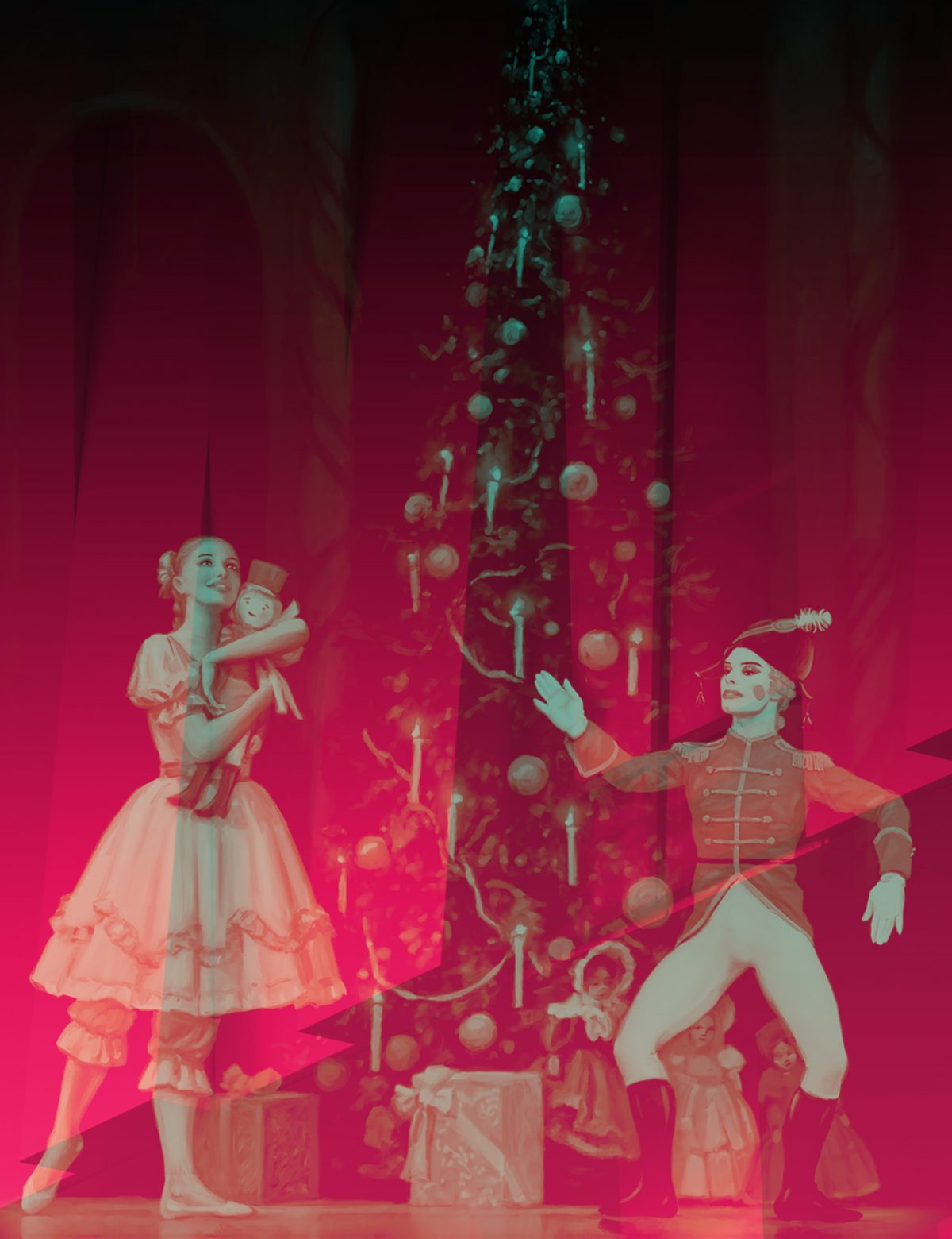 Nötknäpparen med Russian Grand Ballet