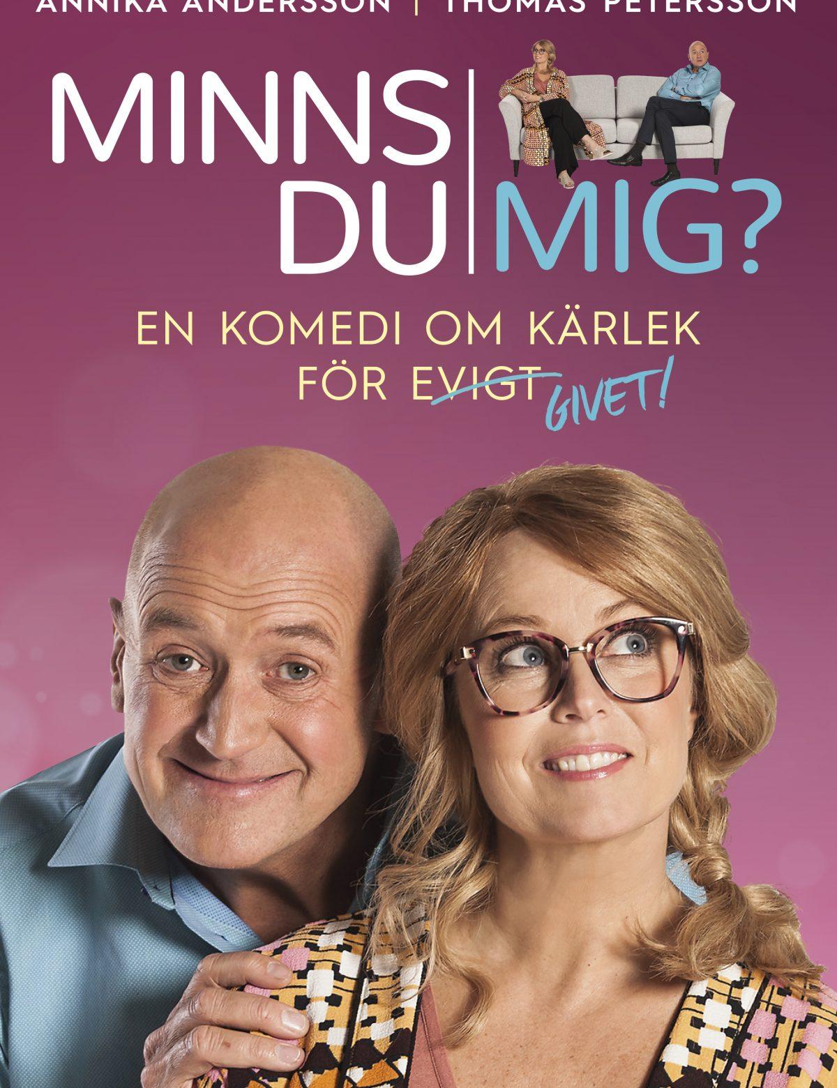 Annika Andersson och Thomas Petersson i Minns du mig?