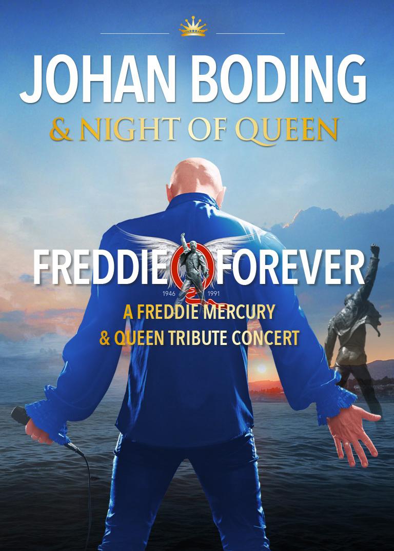 Freddie Forever med Johan Boding & Night of Queen