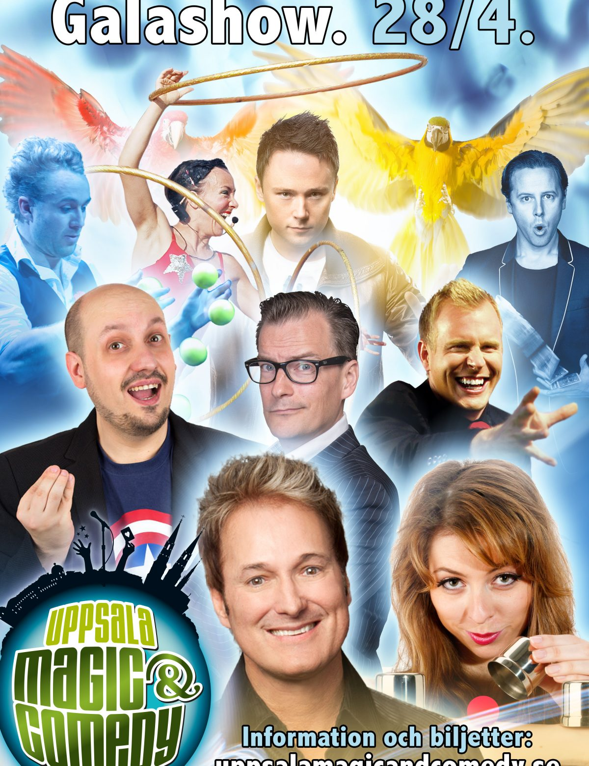 Galashow, Uppsala Magic & Comedy