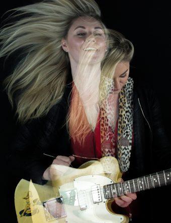 Joanne Shaw Taylor på Uppsala Internationella Gitarrfestival 2018.
