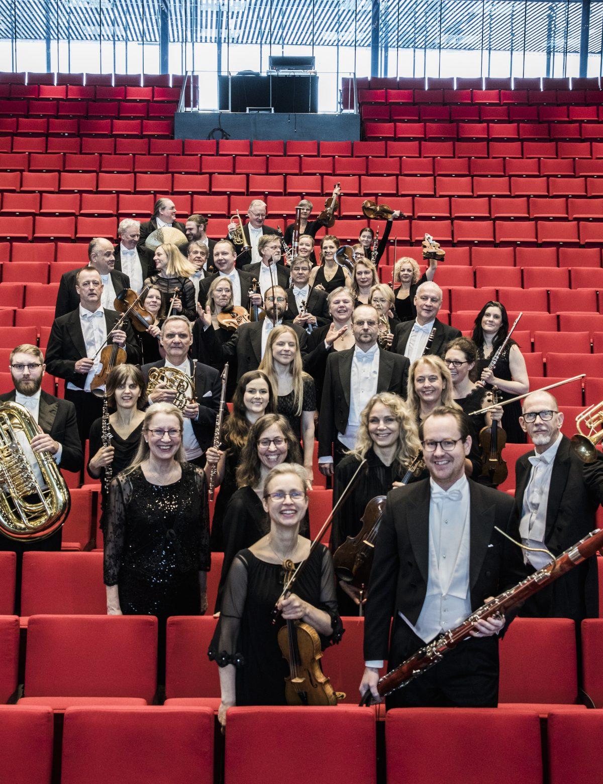 Uppsala Kammarorkester 2018. Foto: Tina Axelsson.