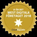 Uppsala Konsert & Kongress är Uppsalas mest digitala företag 2018 enligt digitaliseringsindex.se.