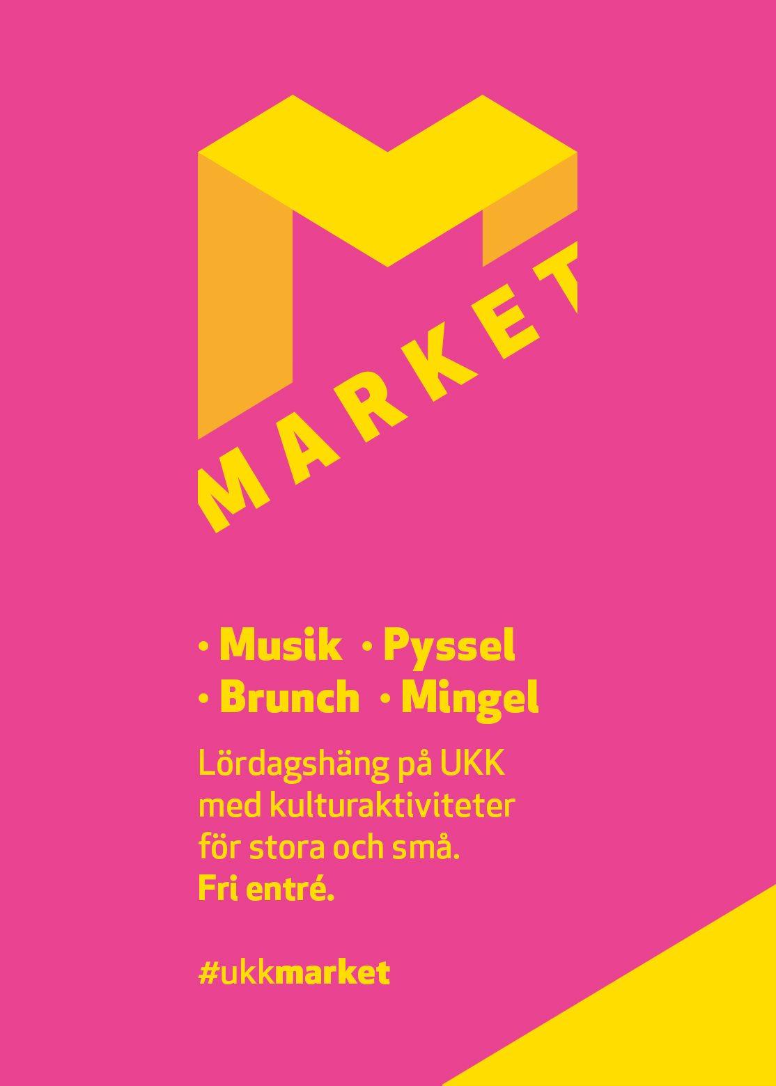 Market med pyssel och brunch på UKK.