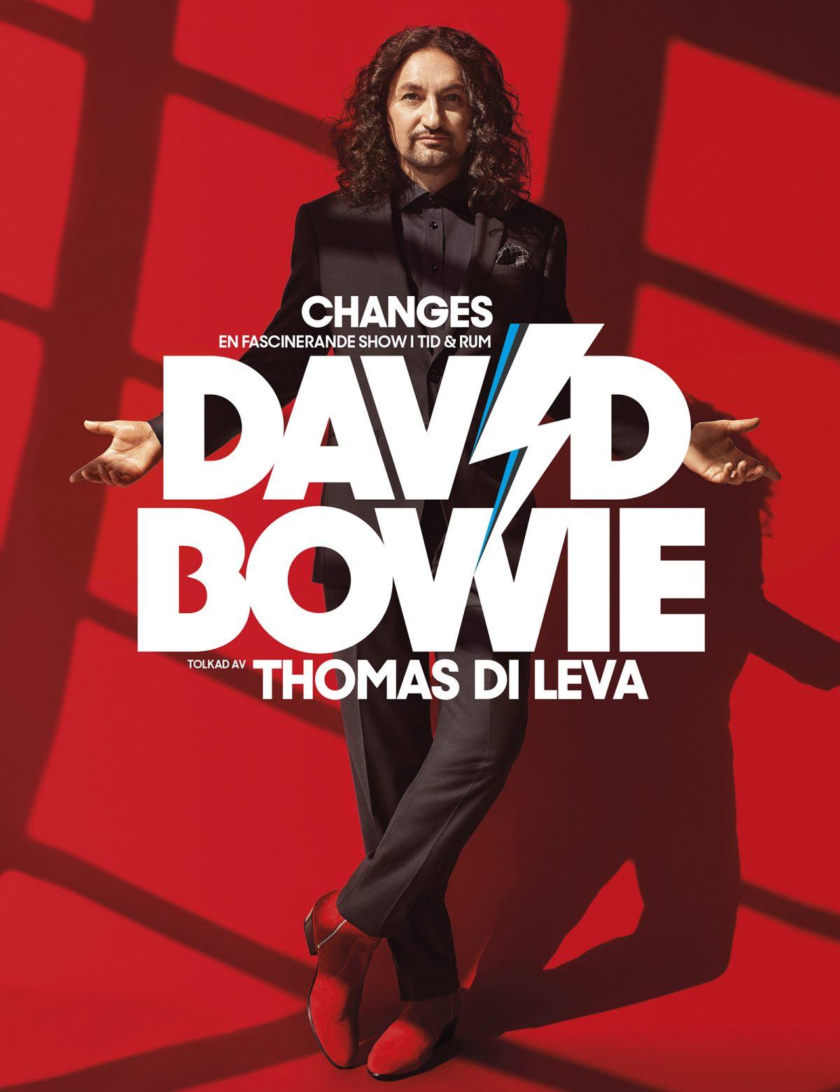 Thomas Di Leva - Changes - en hyllning till David Bowie.