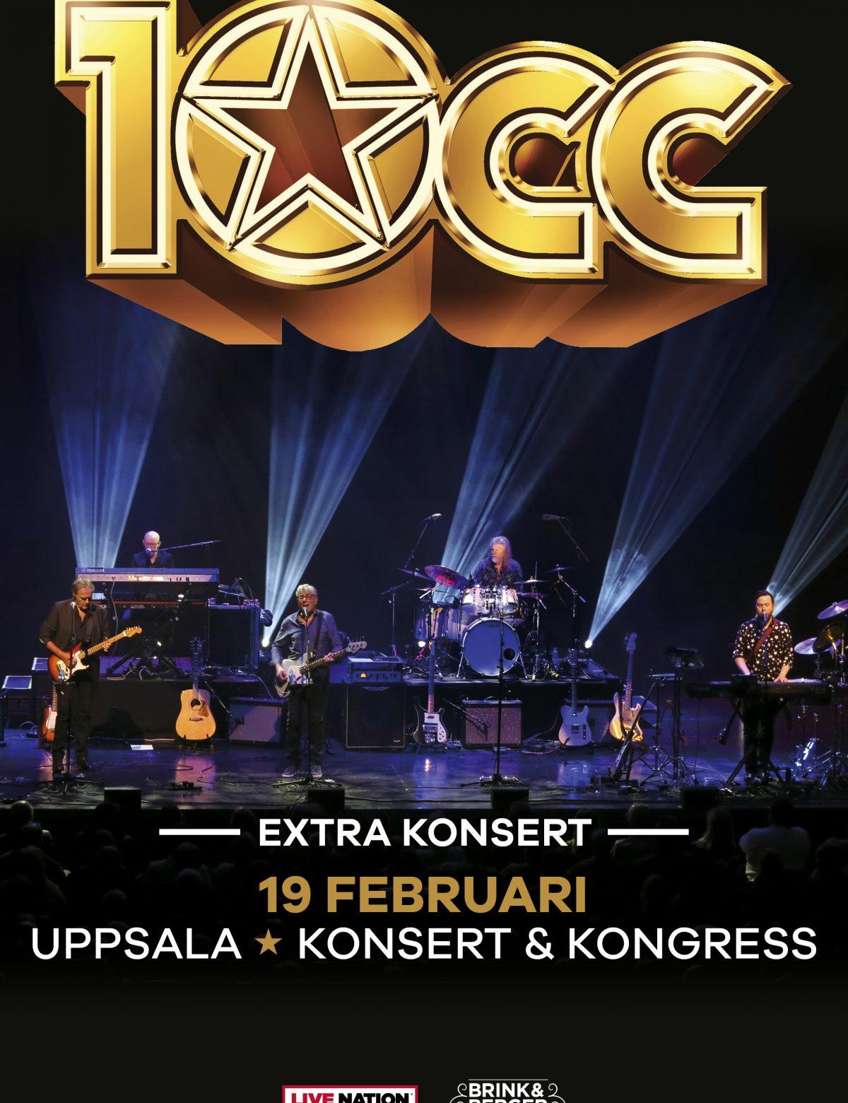 10cc Uppsala Konsert & Kongress