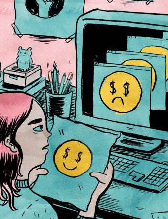 Serietecknaren Daria Bogdanska