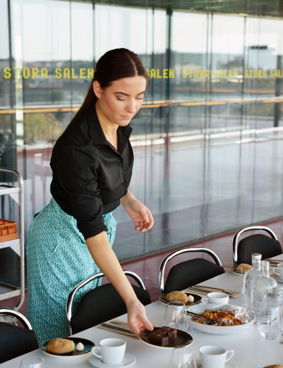 Servering vid bord