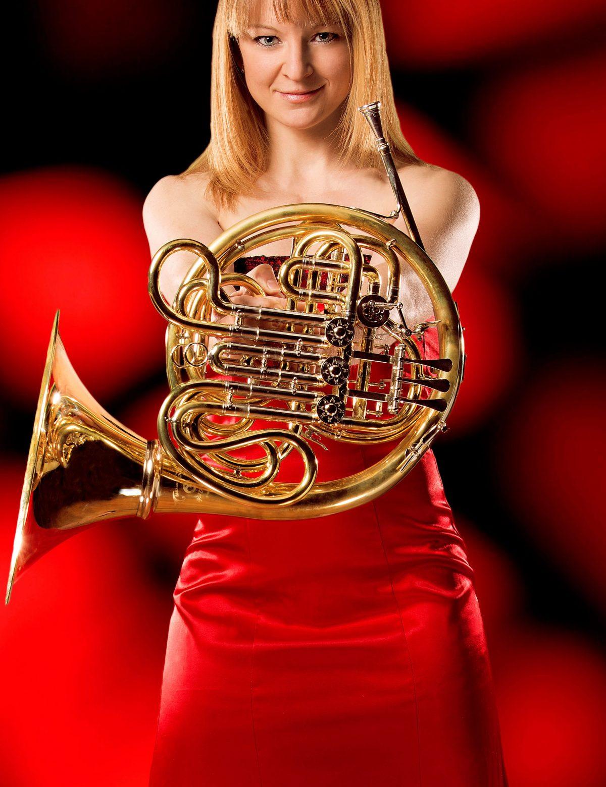 Annamia Larsson, Crusells hornkonsert med Linnékvintetten