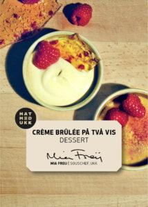 Crème Brûlée och Brûléekräm
