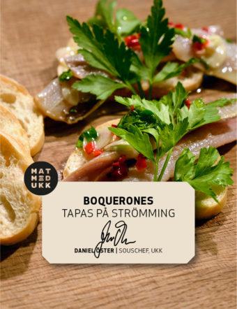 Boquerones recept