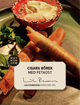 Cigara Börek med fetaost