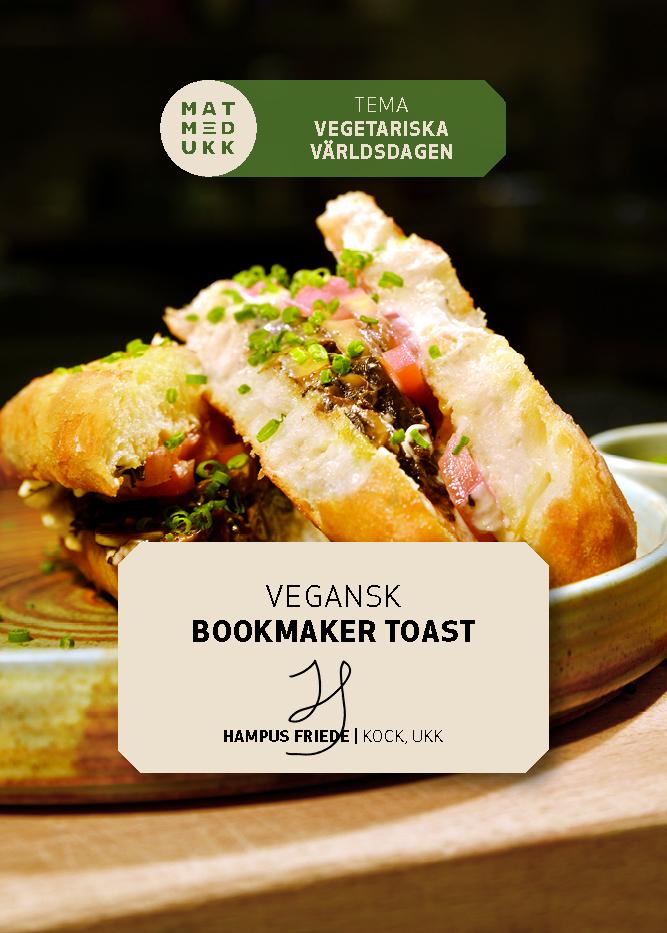 Vegansk bookmaker toast