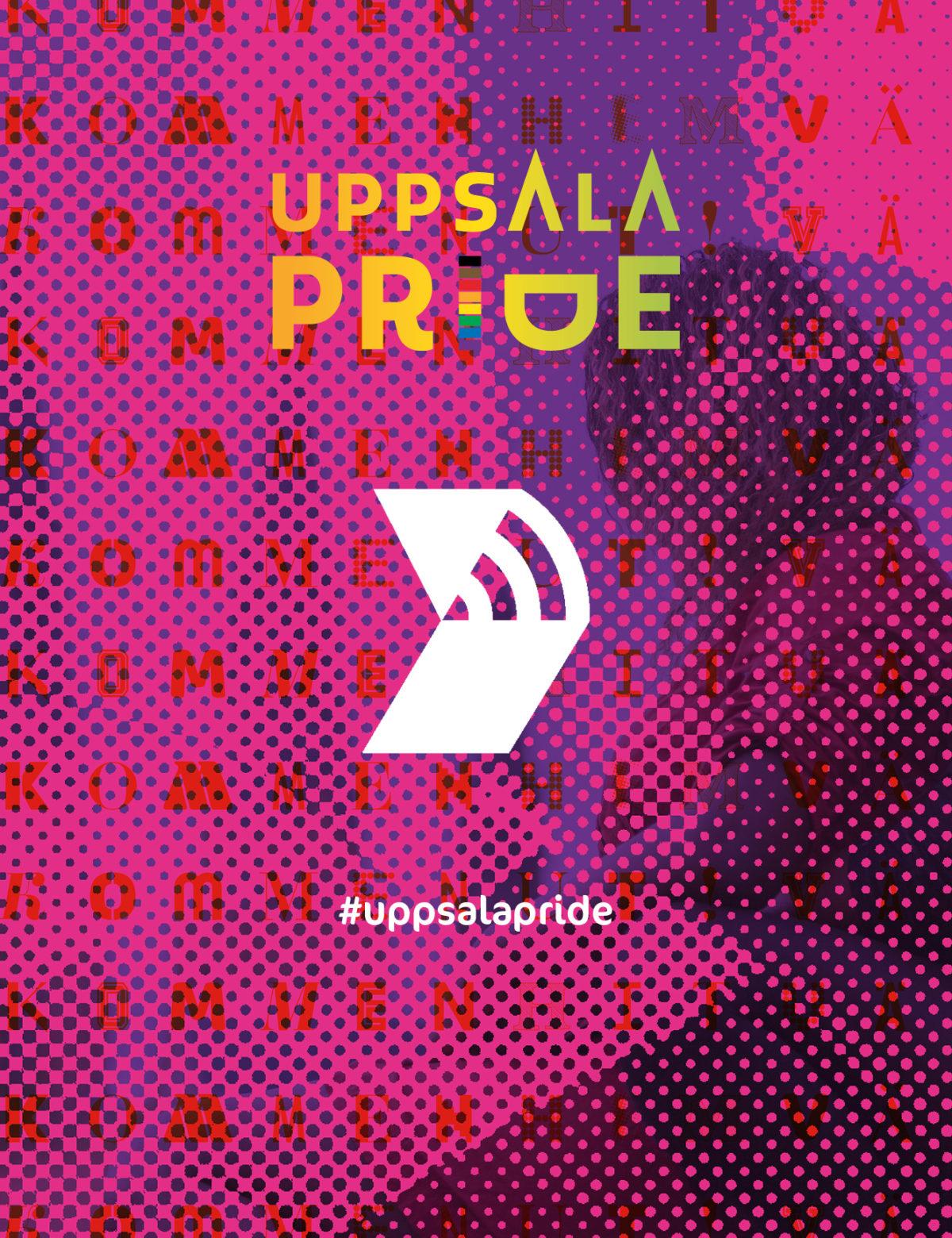 Uppsala Pride logo