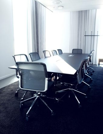 Conference room at UKK. Photo: Marcus Nyberg