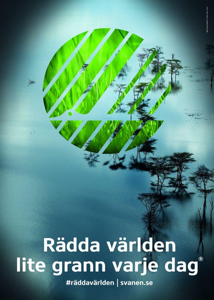 Nordic Ecolabel Svanen - The Swan. Save the world.