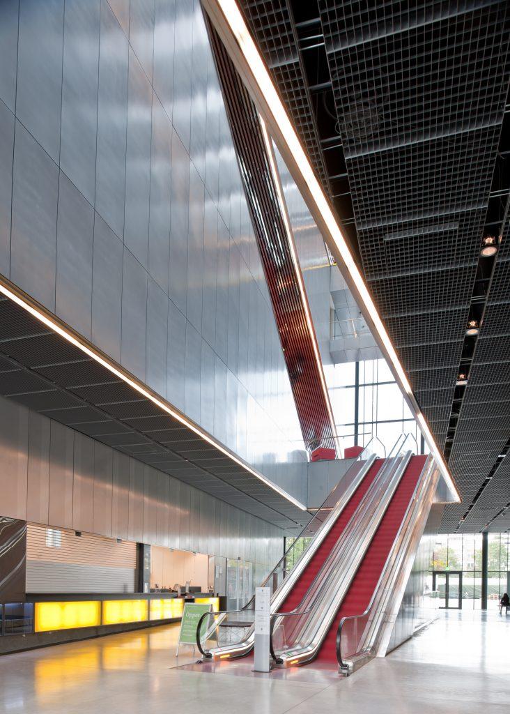 Escalators at UKK. Photo: Jason Strong